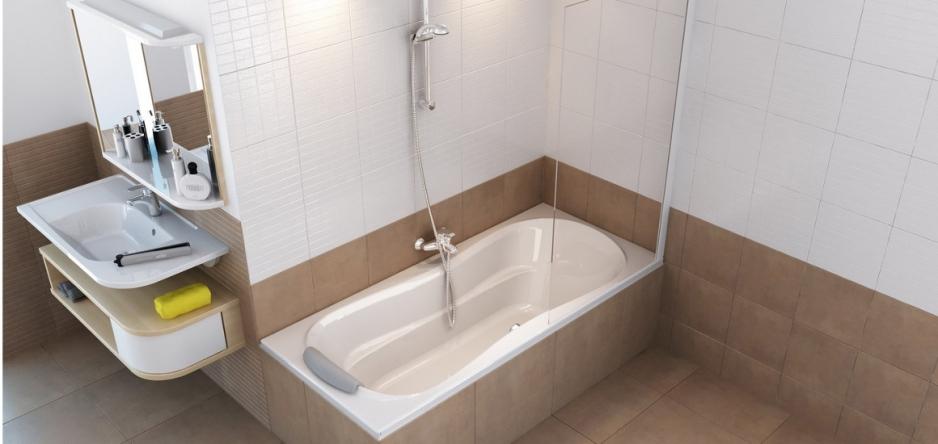 Установка ПВХ ванной