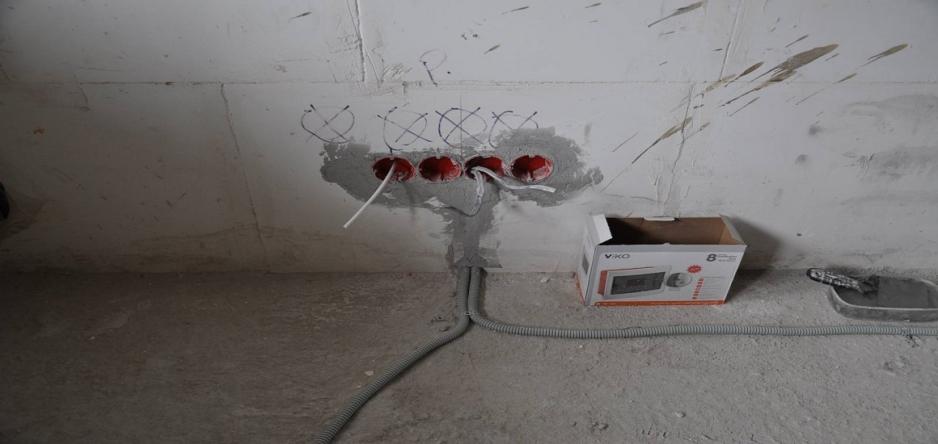 Штробление стен Краснноярск