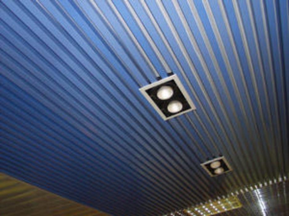 реечный потолок в туле