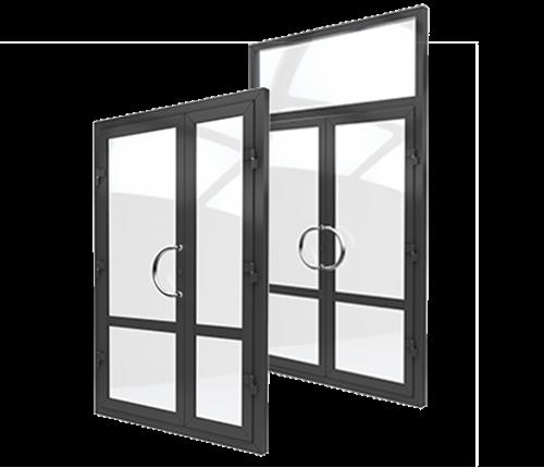 купить алюминиевые двери