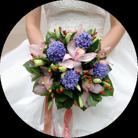 букеты на свадьбу в Череповце
