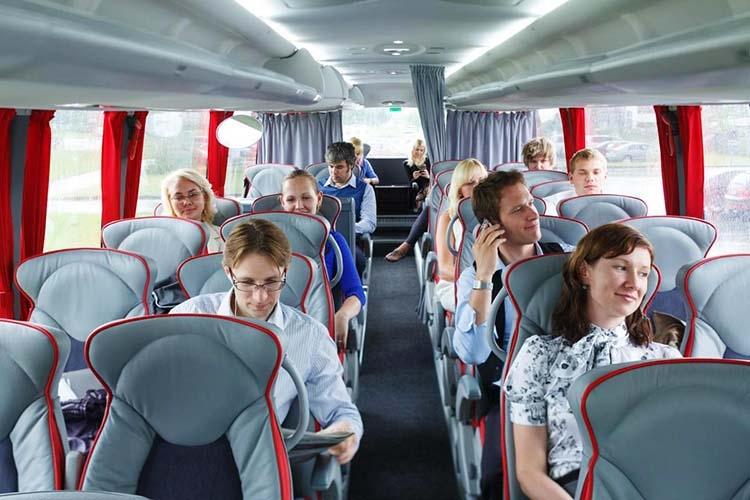 перевозка автобусами