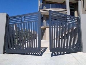 распашные ворота в туле