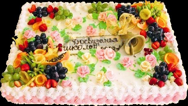 украшение торта
