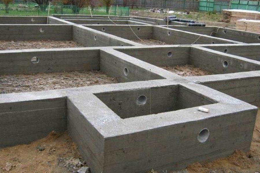 Строительство фундамента в Красноярске