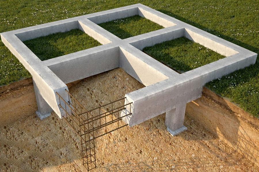 Строительство плиточного фундамента в Красноярске