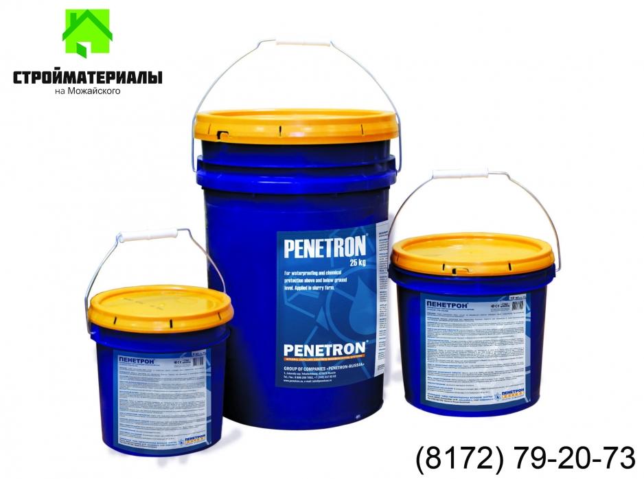 Гидроизоляция пенетрон