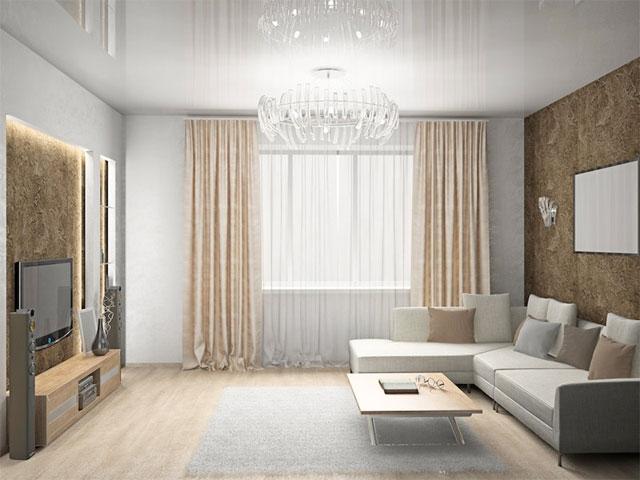 белые потолки