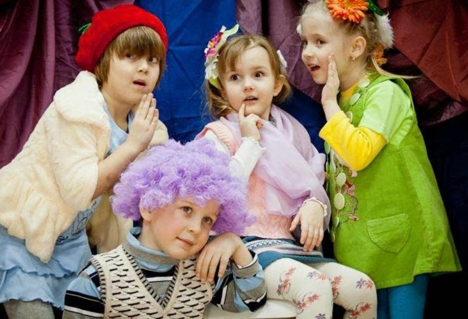 Театральная студия для детей фото