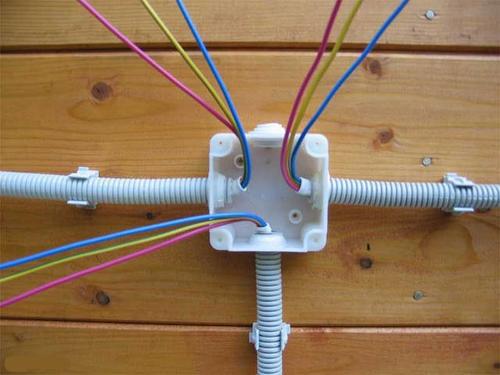монтаж электропроводки в туле
