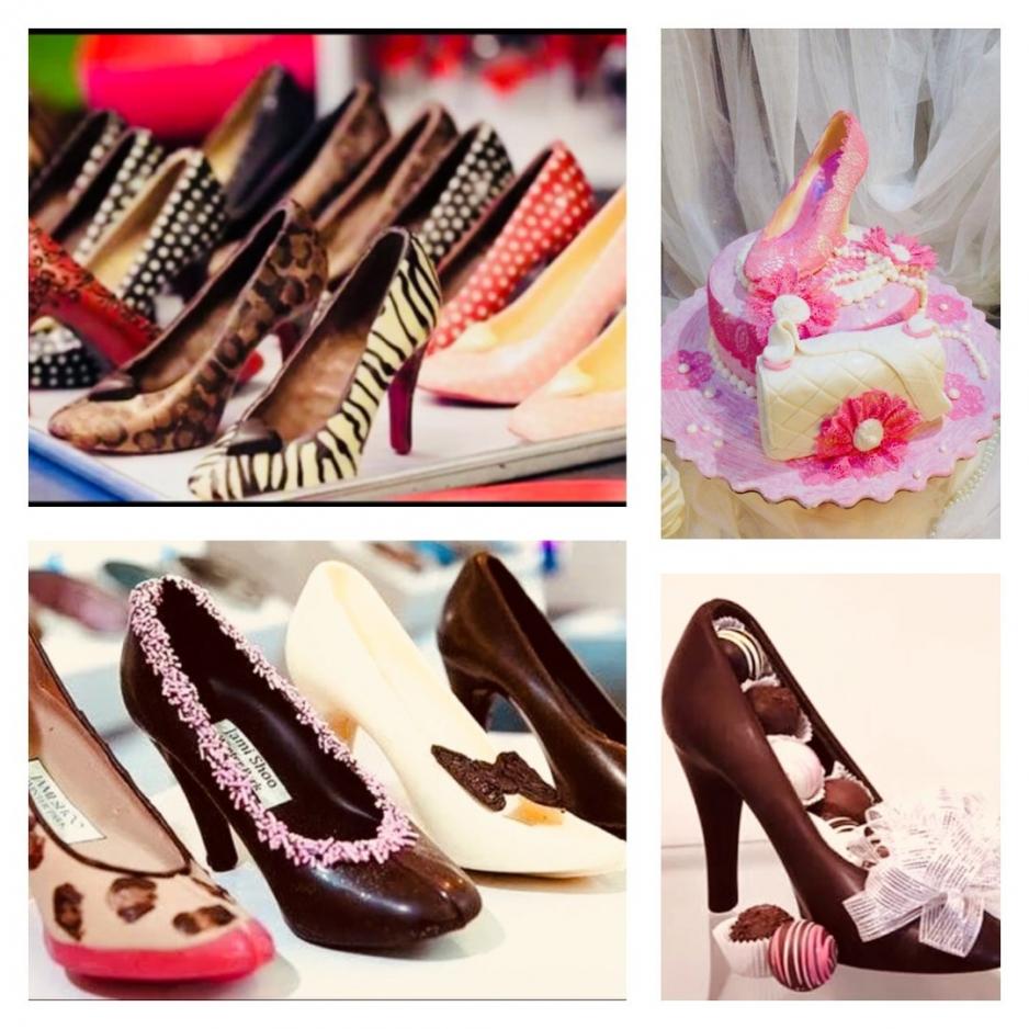 Шоколадные туфли