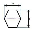 Ремень шестигранный