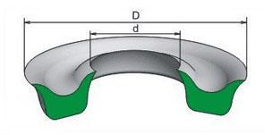 Манжета резиновая (воротниковая) ТУ 38-1051725-86 (ГОСТ 6969-54)
