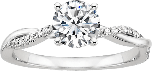 Кольцо с бриллиантом на заказ в Череповце