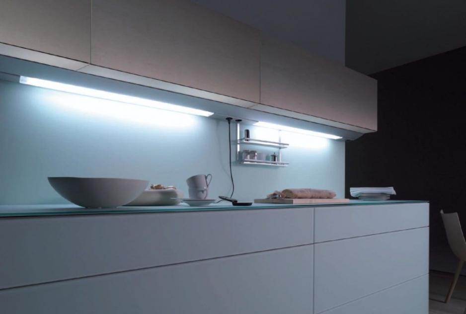 Светодиодный светильник на кухне
