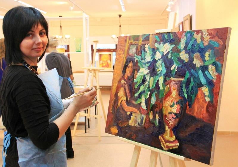 Обучение рисованию в Череповце (мастер класс)