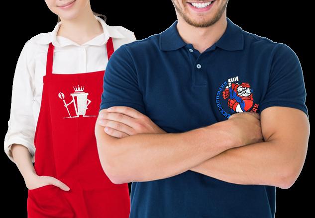 Вышивка логотипа на одежду в Череповце