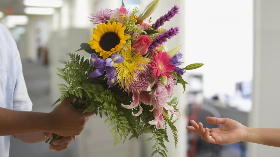 заказа цветов