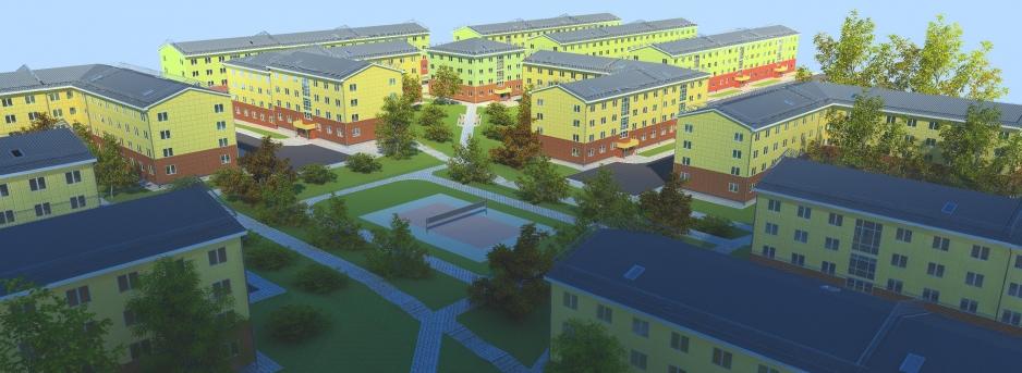 Моделирование жилой застройки