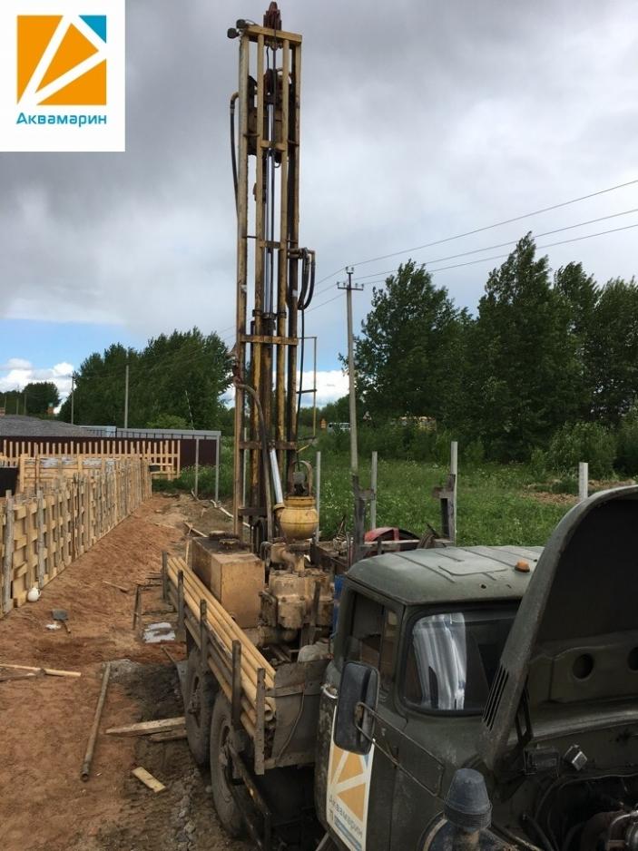Бурение скважины в п. Непотягово Вологодского района