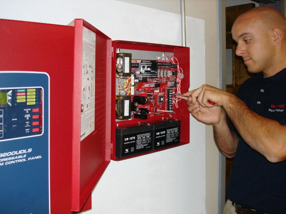монтаж пожарной безопасности