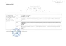 Изменения в проектную декларацию №6 от 03 августа 2018