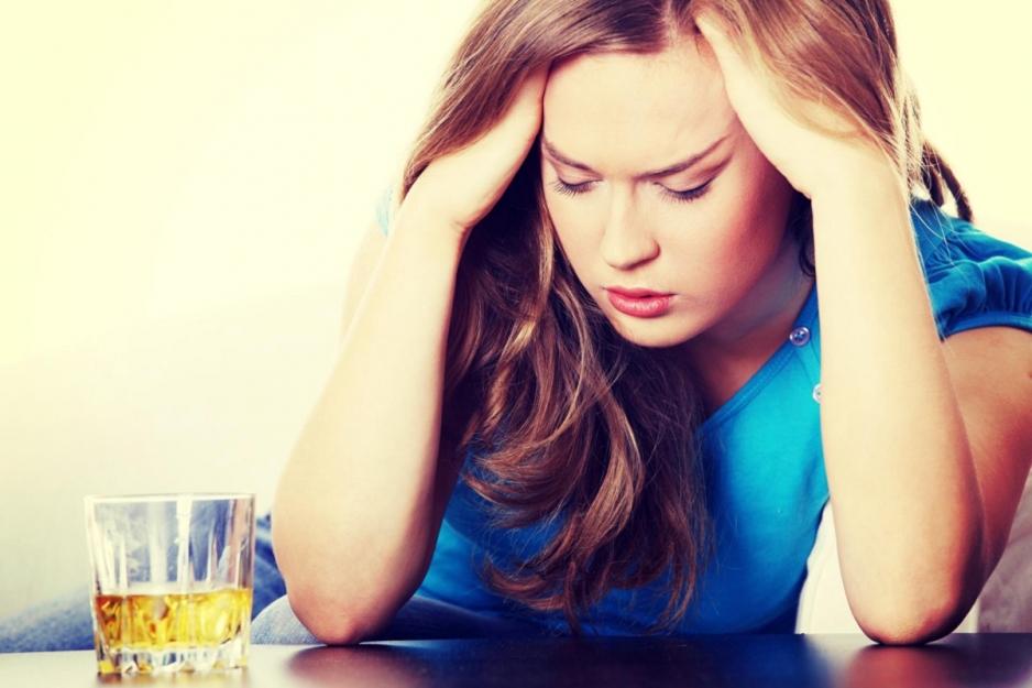 Женская алкогольная зависимость