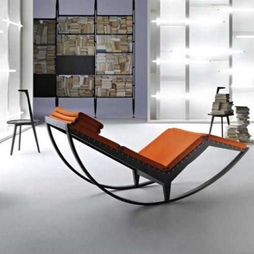 Кресло качалка в стиле лофт