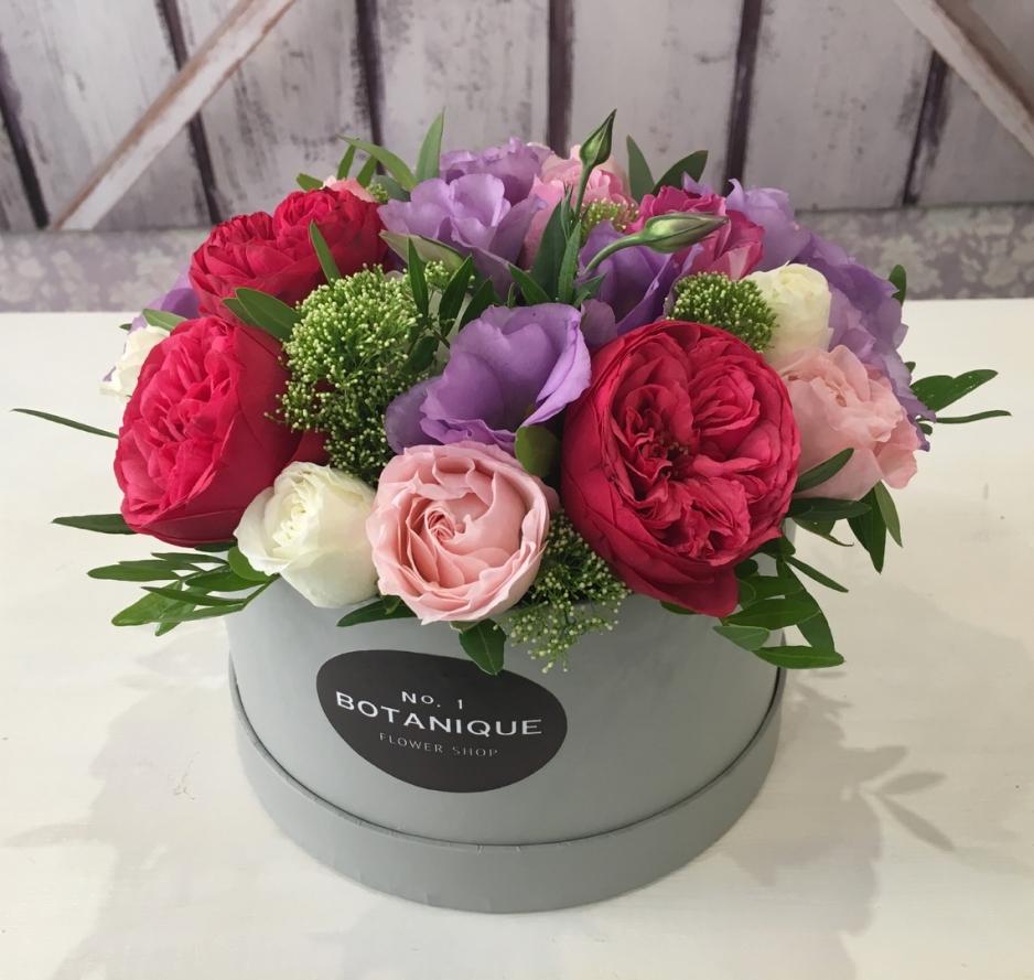 Цветы в коробке в Череповце