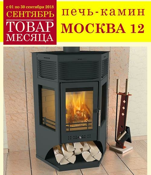 Печь камин Москва 12