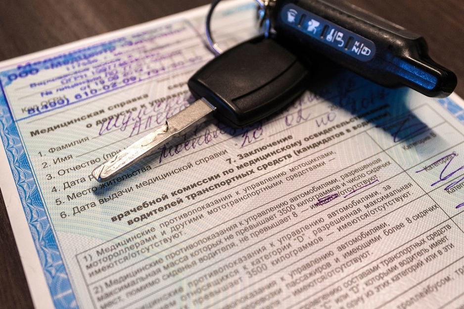 водительская медкомиссия