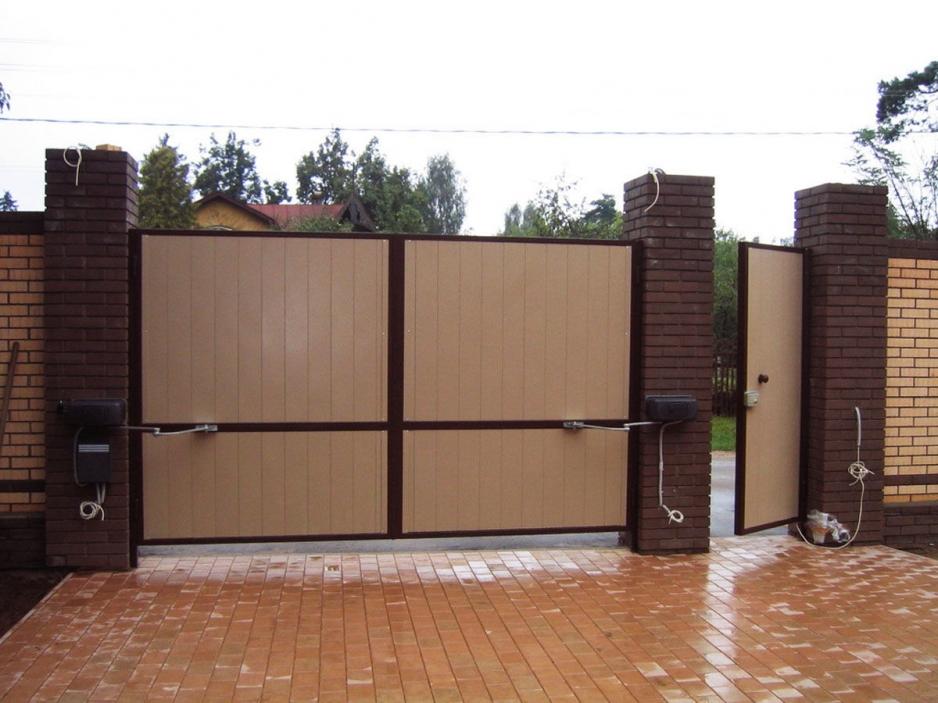 Изготовление и установка ворот в Череповце