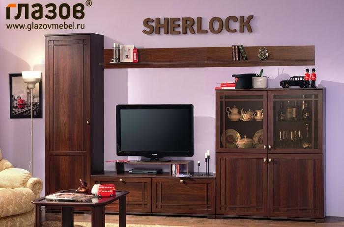 Гостиная Sherlock