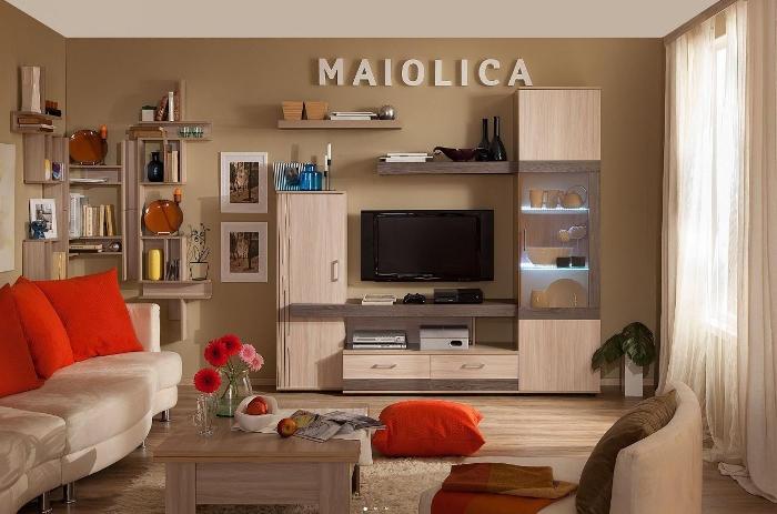 Гостиная Мaiolica