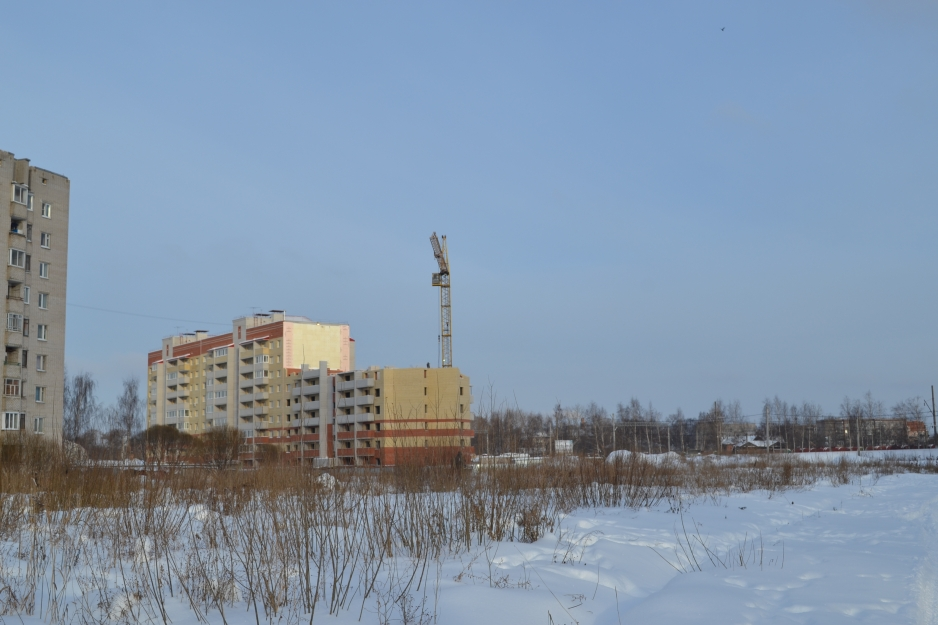 Ход строительства ЖК Ленинградский на январь