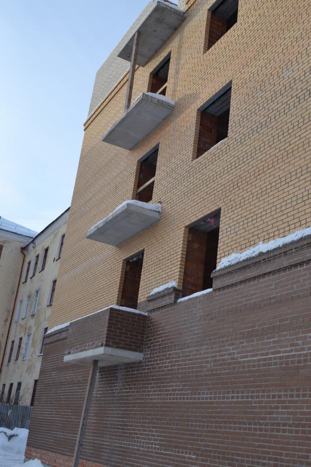 Ход строительства здания на Проспекте Победы