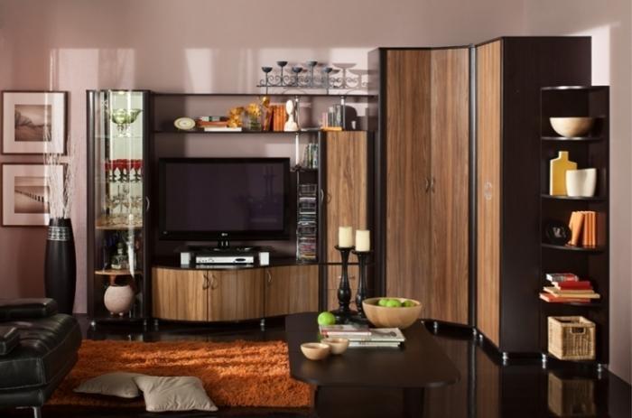 Модульная мебель в гостиную Элегия 21
