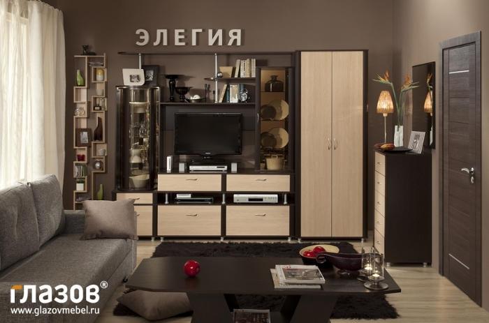 Модульная мебель в гостиную Элегия 23