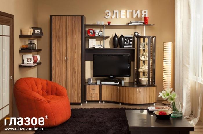 Модульная мебель в гостиную Элегия 24