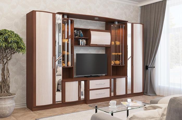 Модульная мебель в гостиную Кристина