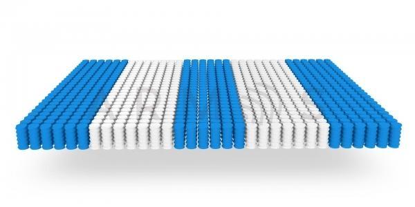 Блок независимых пружин 5-zone (256 на кв.м)