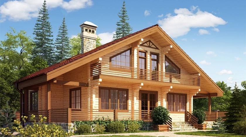 Строительство дома из бруса под ключ в Череповце