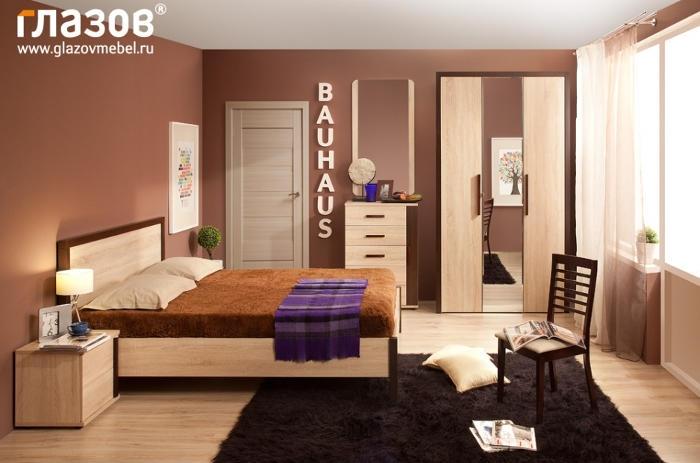 Модульная мебель в спальню BAUHAUS