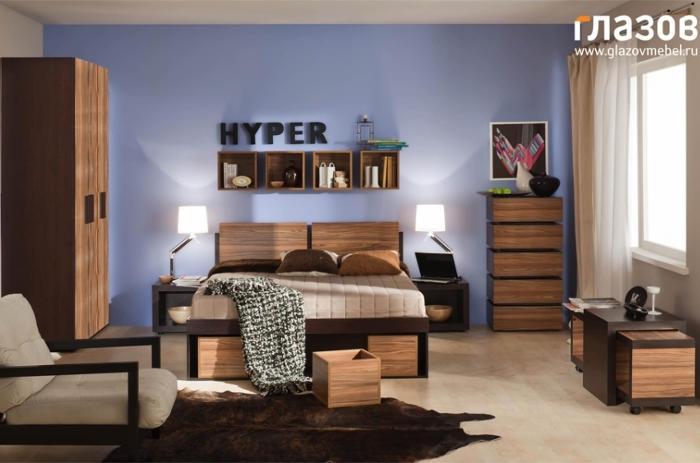 Модульная мебель в спальню HYPER