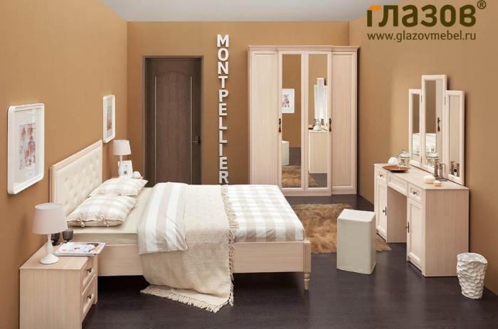 Модульная мебель в спальню MONTPELLIER