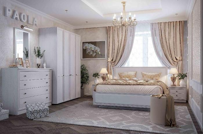 Модульная мебель в спальню PAOLA