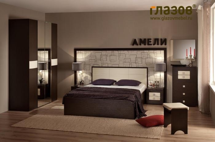 Модульная мебель в спальню Амели