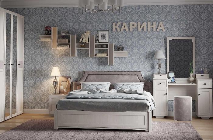 Модульная мебель в спальню Карина