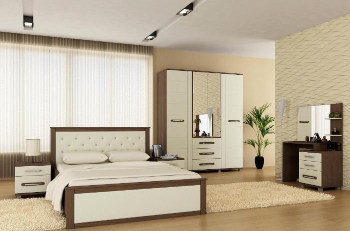 Модульная мебель в спальню Инфинити
