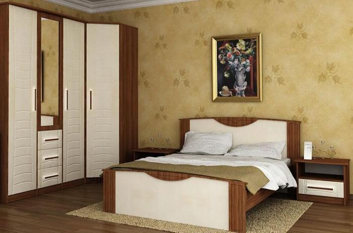 Модульная мебель в спальню Комфорт-2